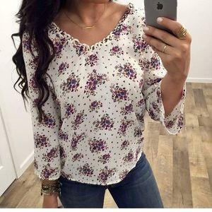 Apricot Lane Boutique Floral blouse